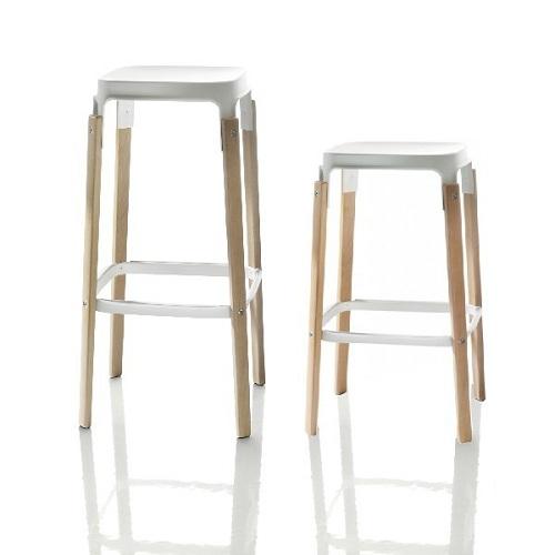 MAGIS barové židle Steelwood Stool