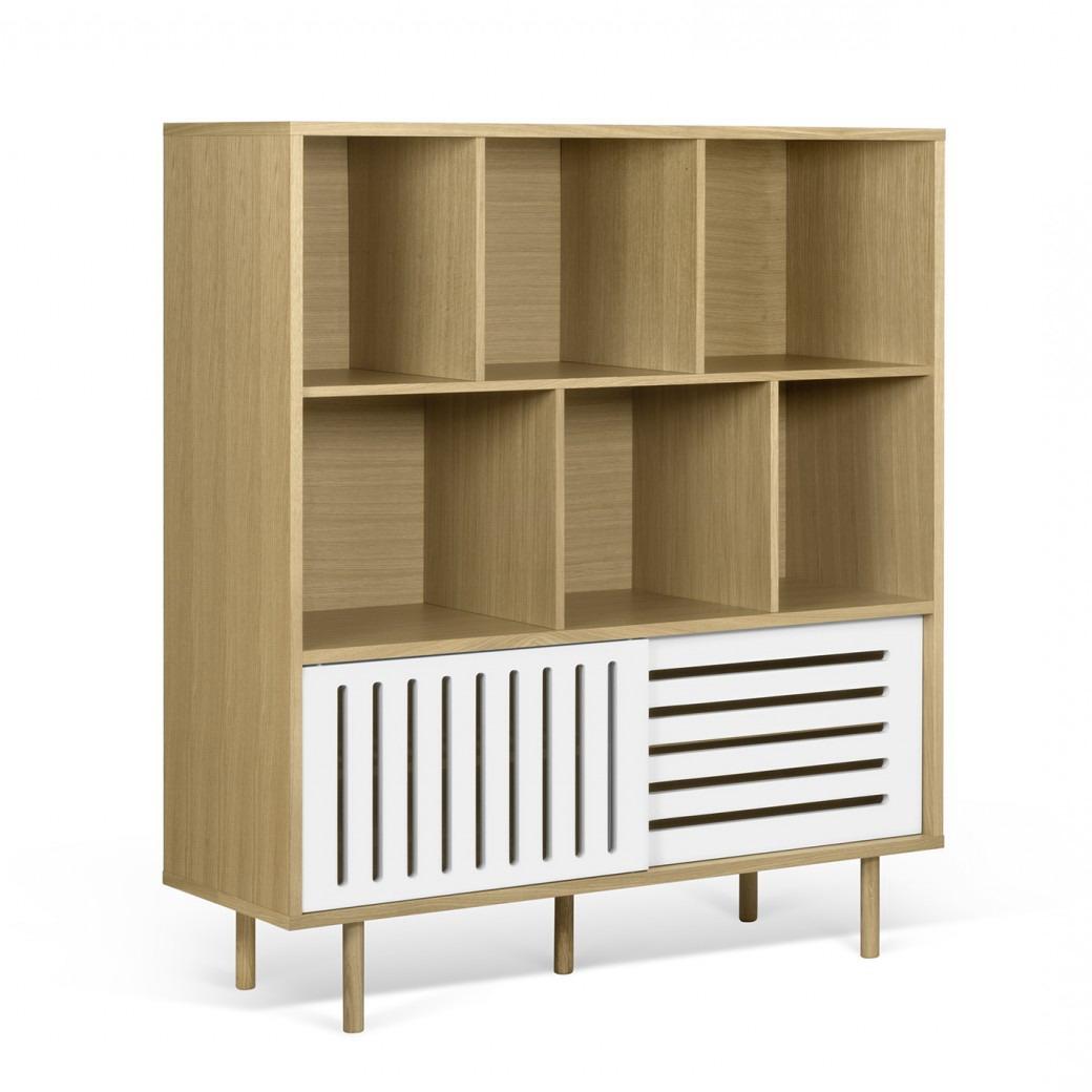Pop-Up-Home designové knihovny Dann Stripes