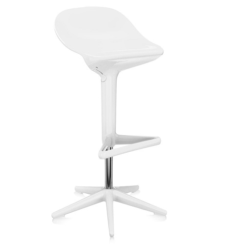 Kartell designové barové židle Spoon Stool