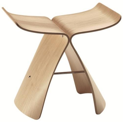 VITRA stoličky Butterfly Stool