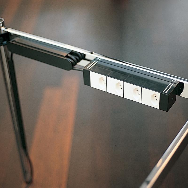 USM Haller magnetické lišty na kabely 8mm
