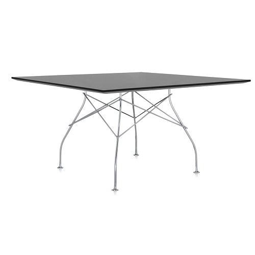 Kartell designové jídelní stoly Glossy čtvercové