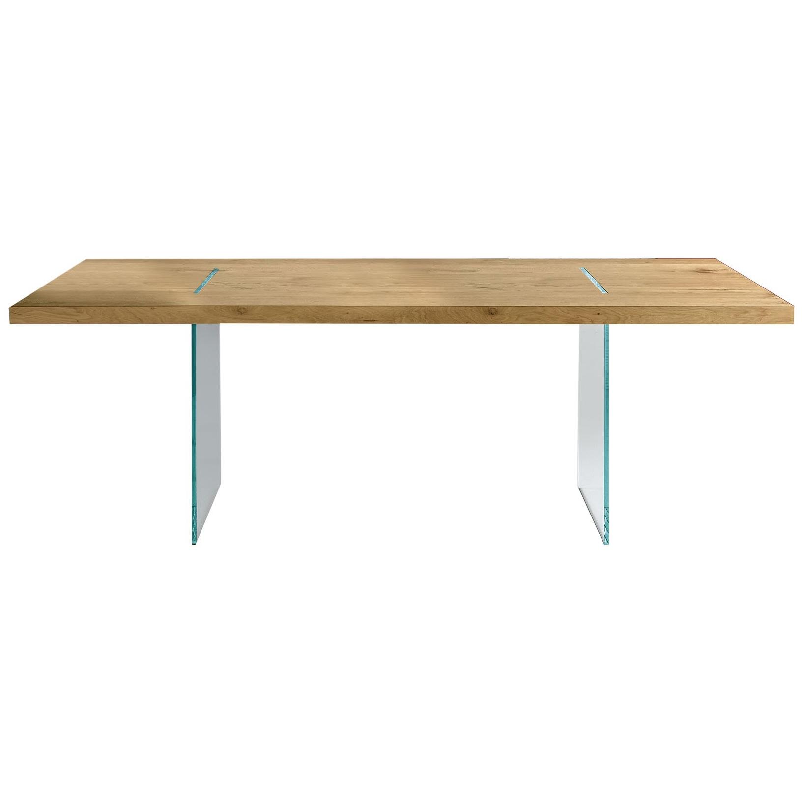 TONELLI jídelní stoly Tavolante Aged Oak (240 x 120 cm)