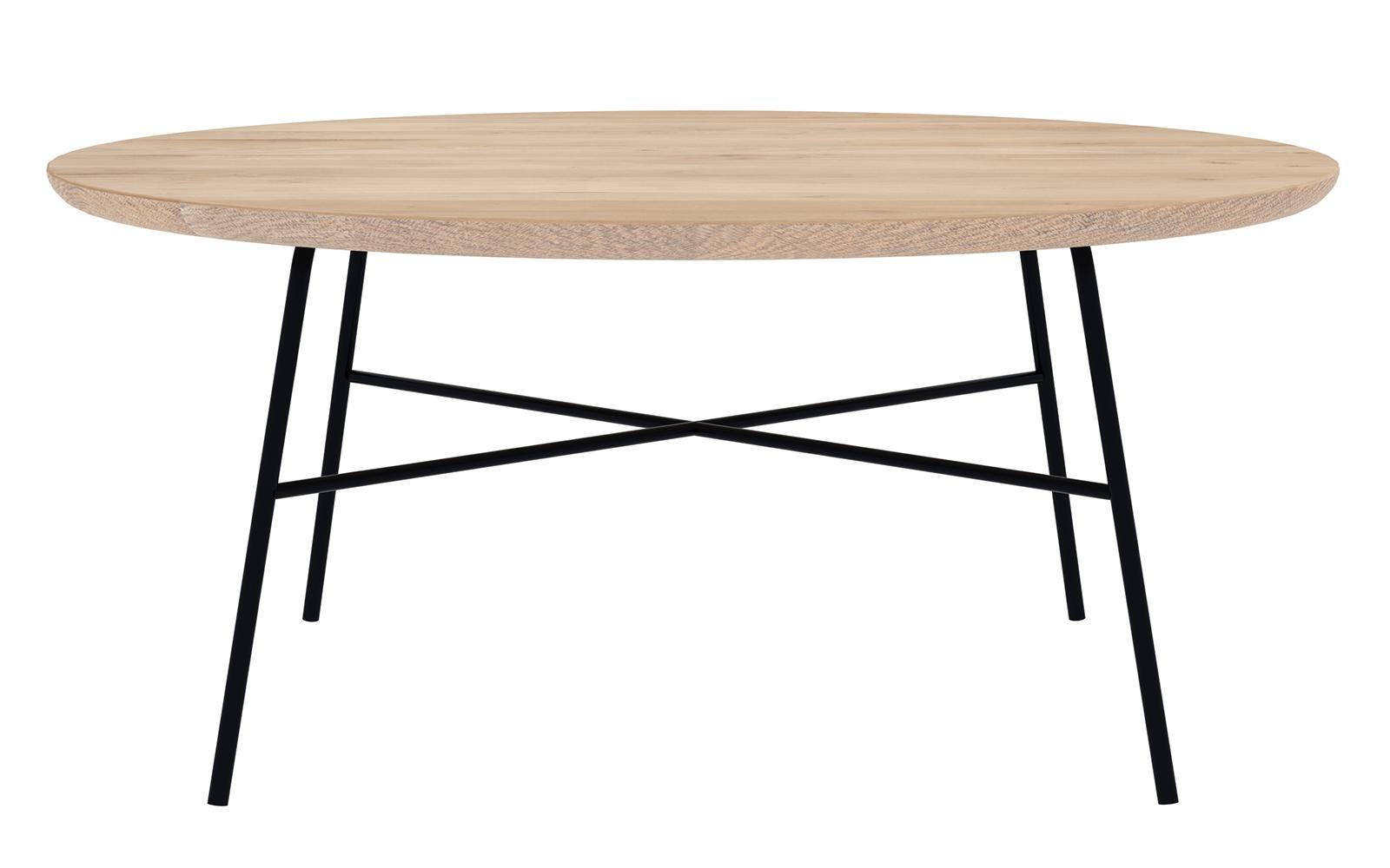Ethnicraft designové konferenční stoly Disc Coffee Table Round