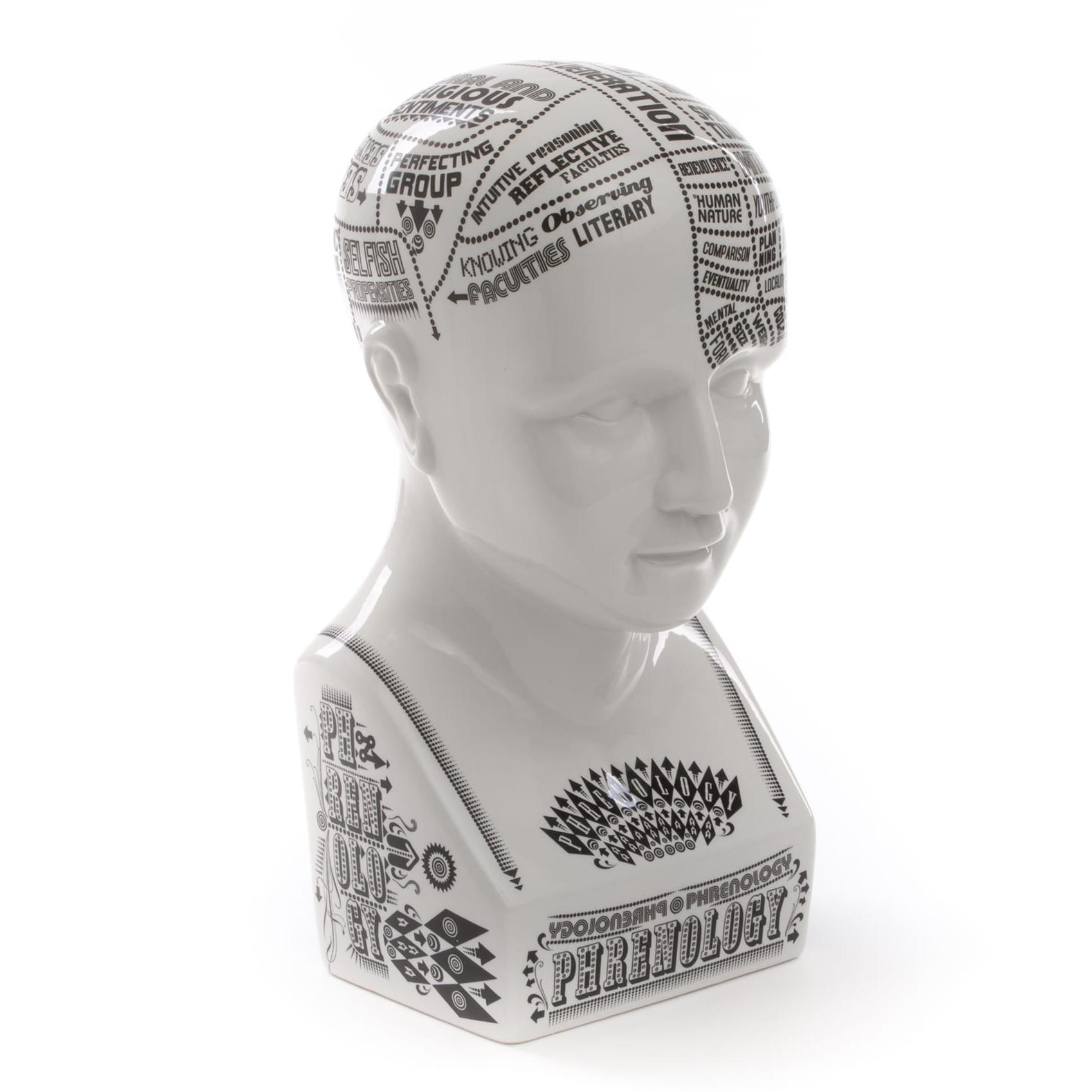 Seletti designové figurky a sochy Phrenology