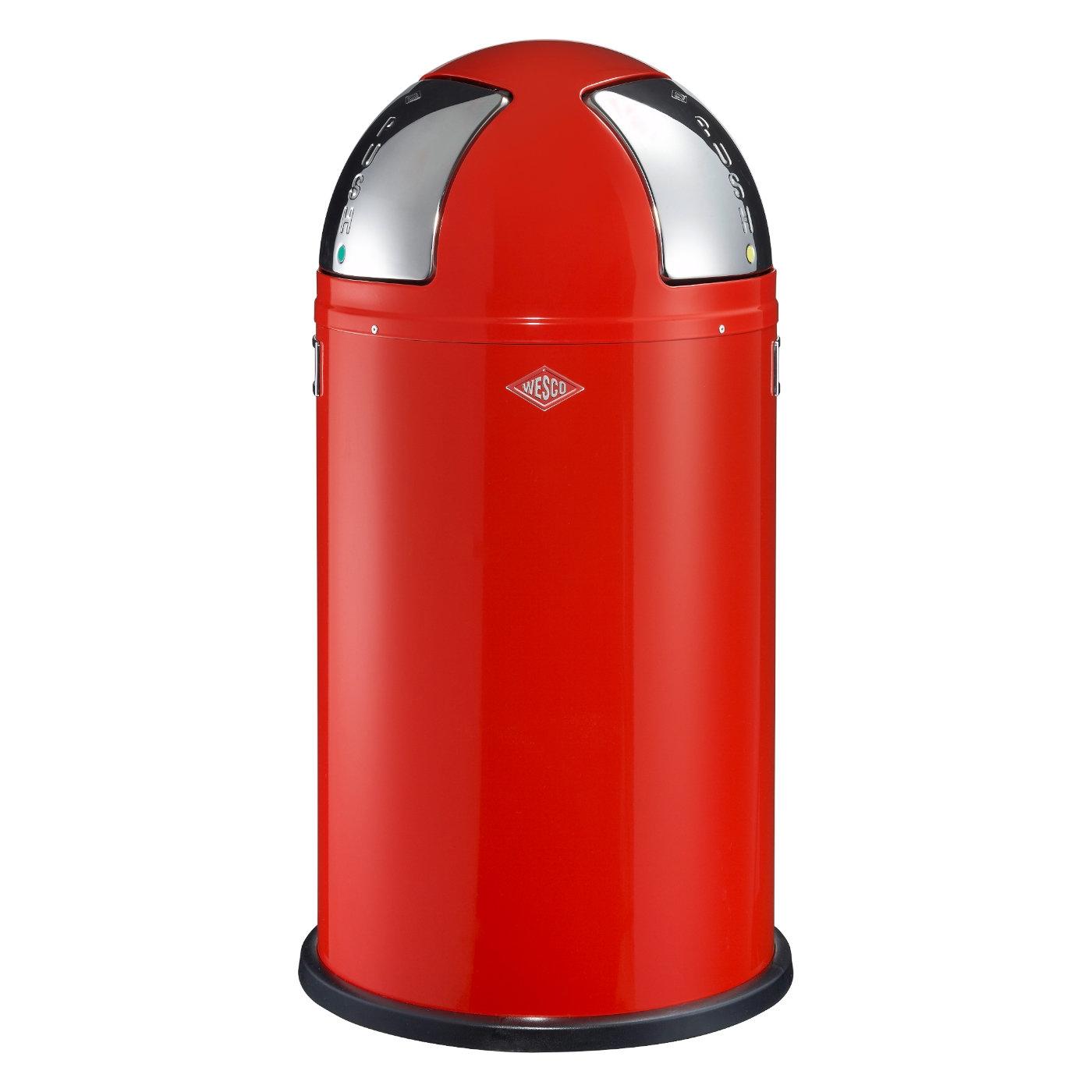 Wesco designové odpadkové koše Push Two 50l