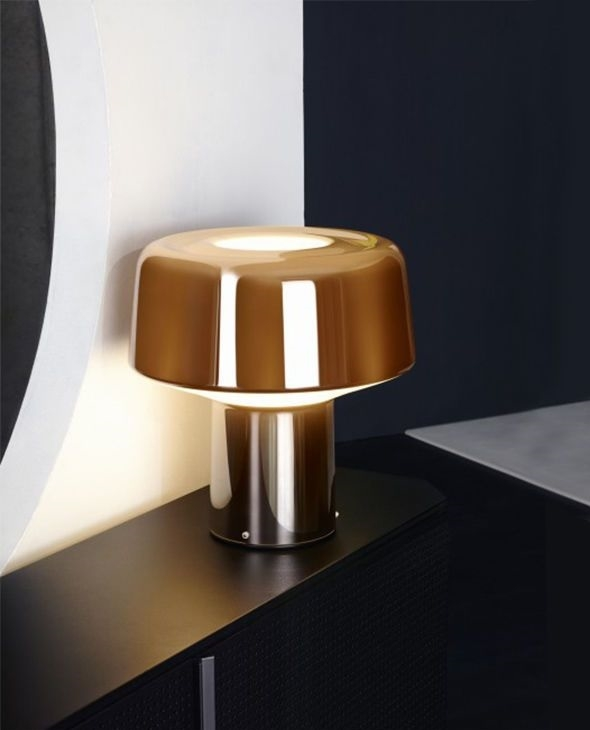 Groovy Diesel with Foscarini designové stolní lampy Glass Drop Tavolo UK29