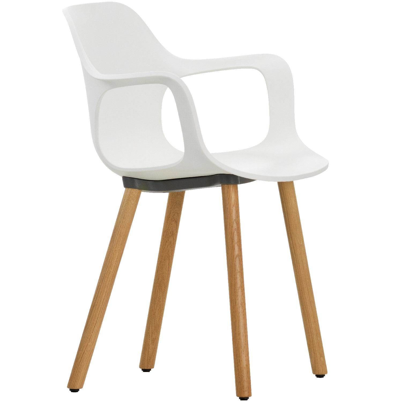 VITRA židle Hal Armchair Wood