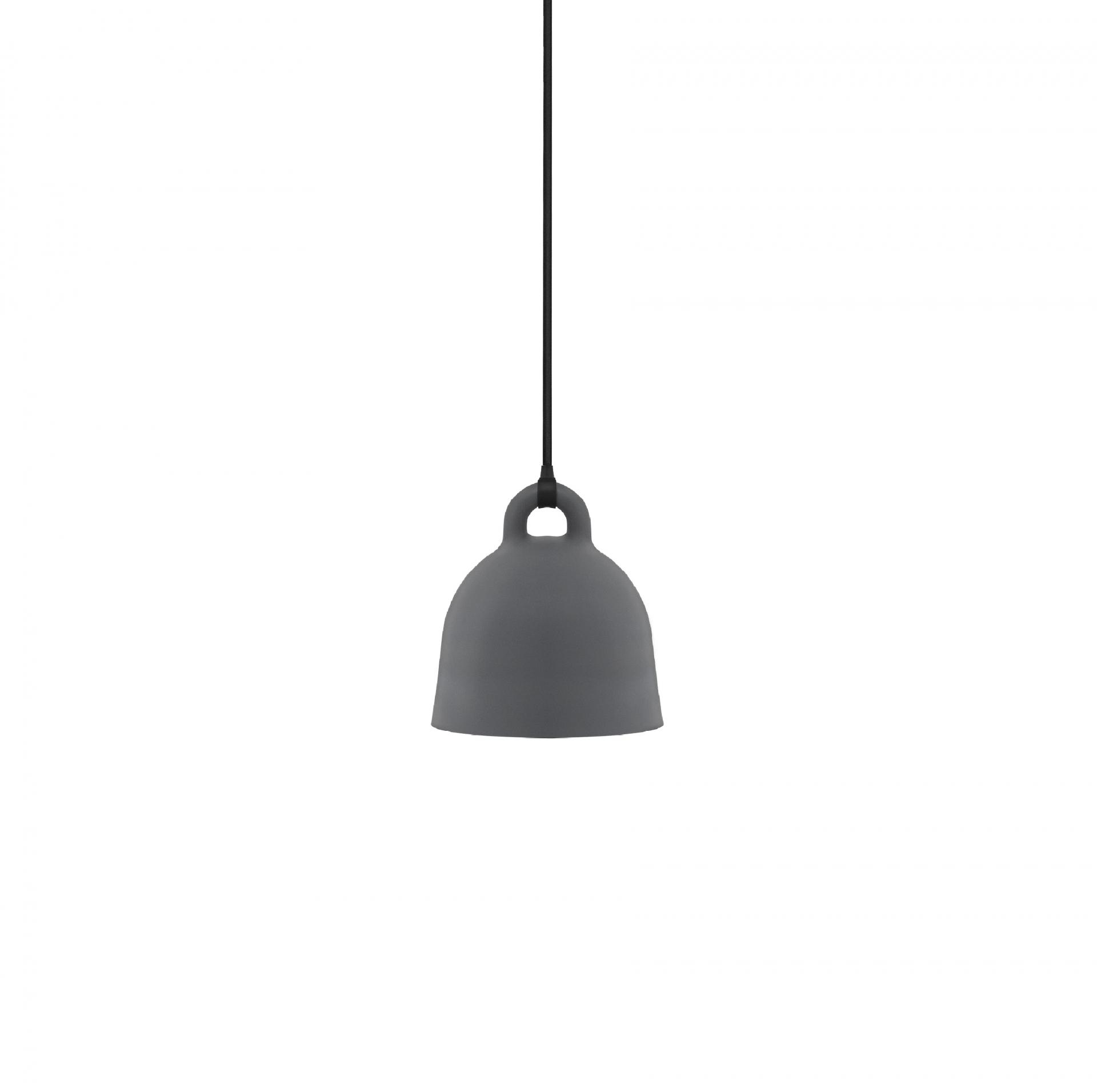 Výprodej Normann Copenhagen designové závěsná svítidla Bell Lamp (šedá, x-small)