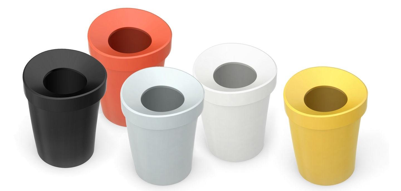 Vitra designové odpadkové koše Happy Bin