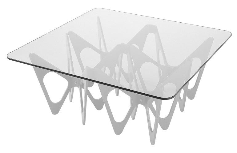 ZANOTTA konferenční stoly Butterfly Table 695 (90 x 90 cm)