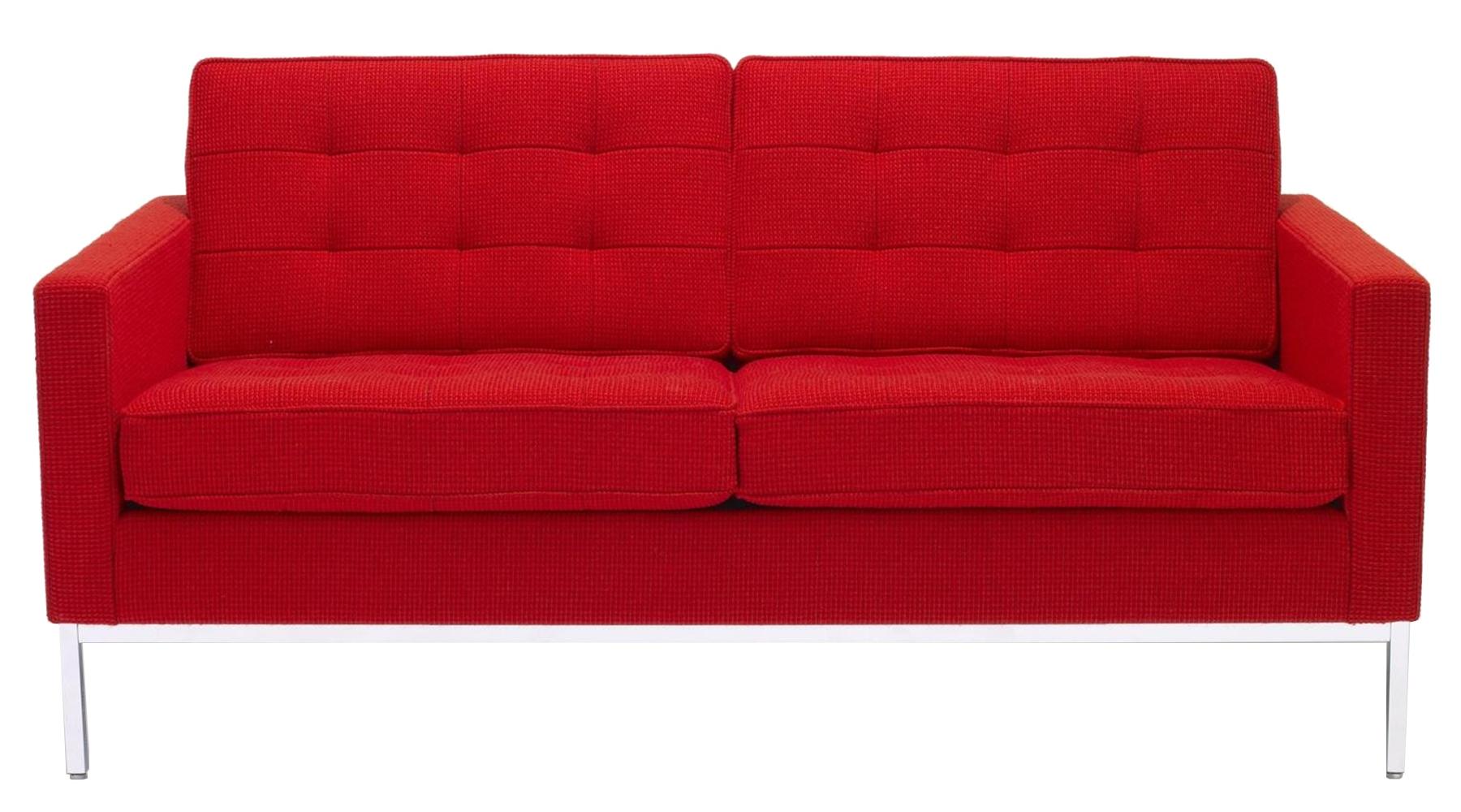 knoll dvouseda ky florence sofa designov seda ky designpropaganda. Black Bedroom Furniture Sets. Home Design Ideas