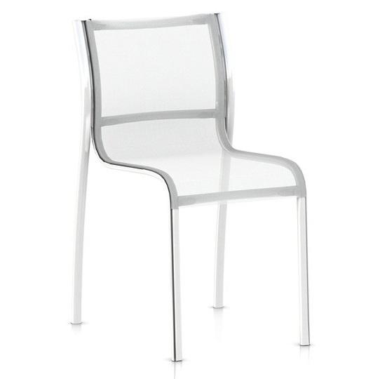 Výprodej Magis designové židle Paso Doble Chair (bílá, hliník)