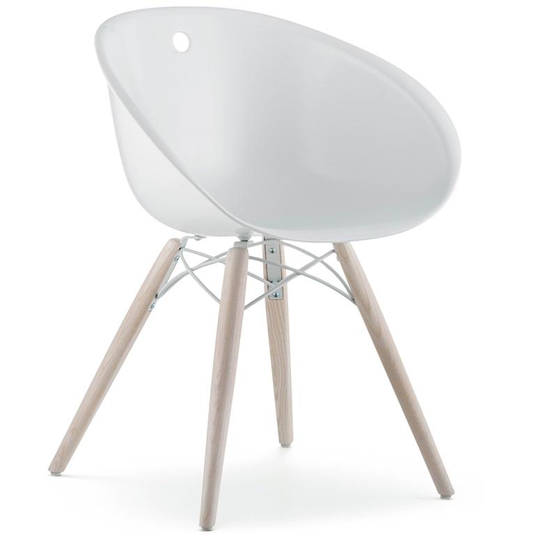 Pedrali designové židle Gliss Wood