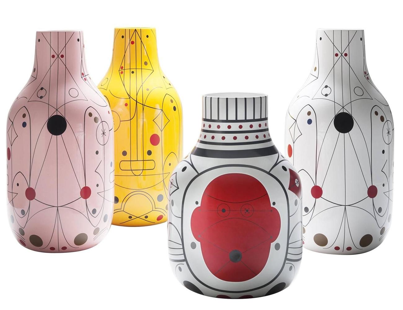 Bosa designové vázy Strypy Collection 2