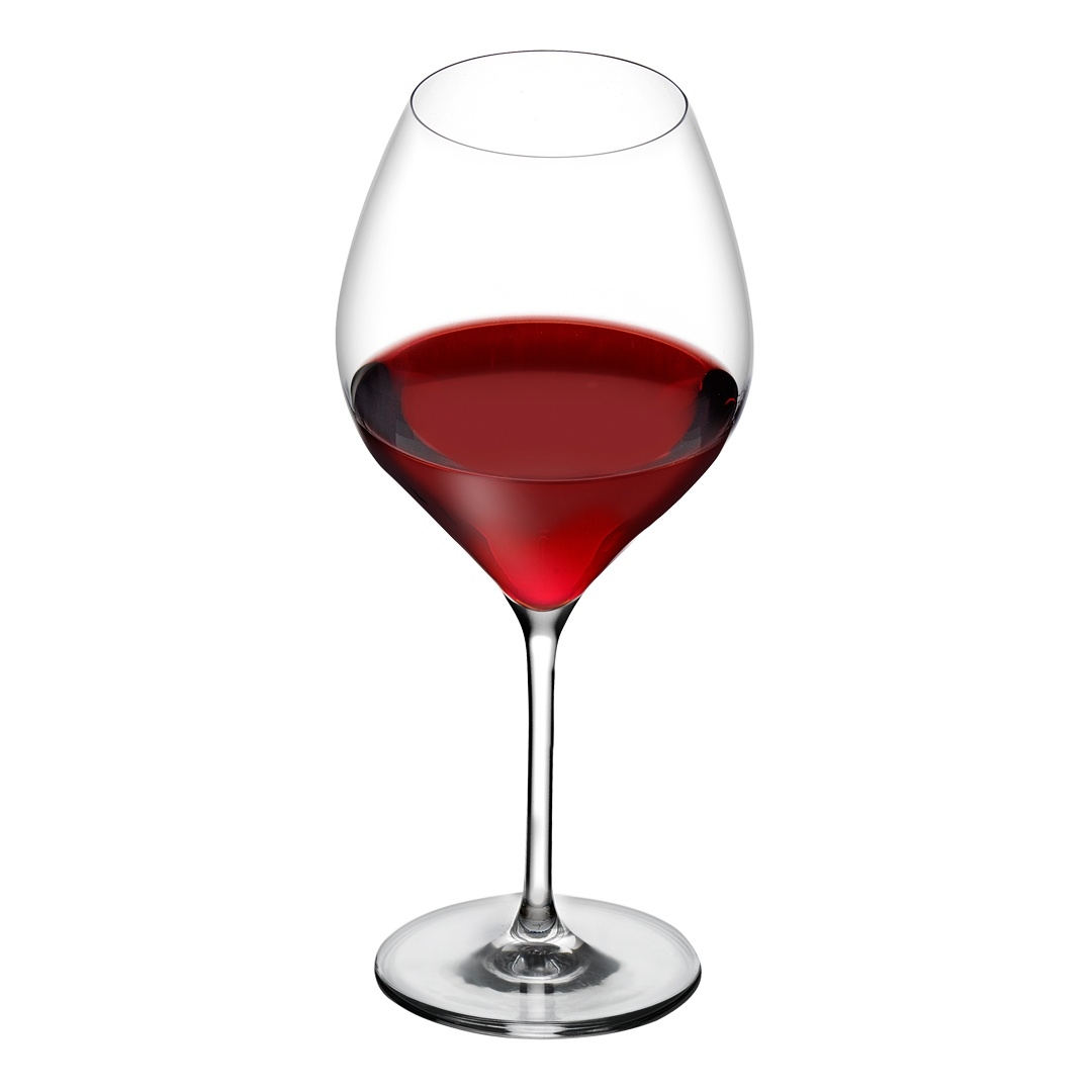 Nude designové sklenice na červené víno Vinifera