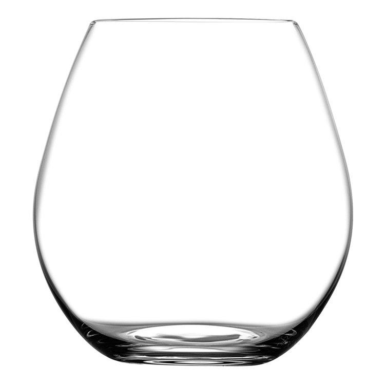 Nude designové sklenice na červené víno Pure Bourgogne