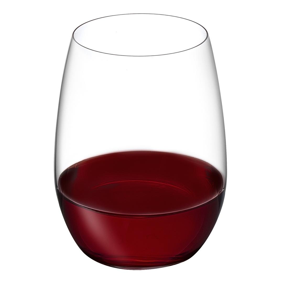 Nude designové sklenice na červené víno Pure Bordeaux