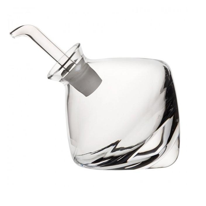 Nude designové nádoby na olej a ocet s nalévátkem Olea