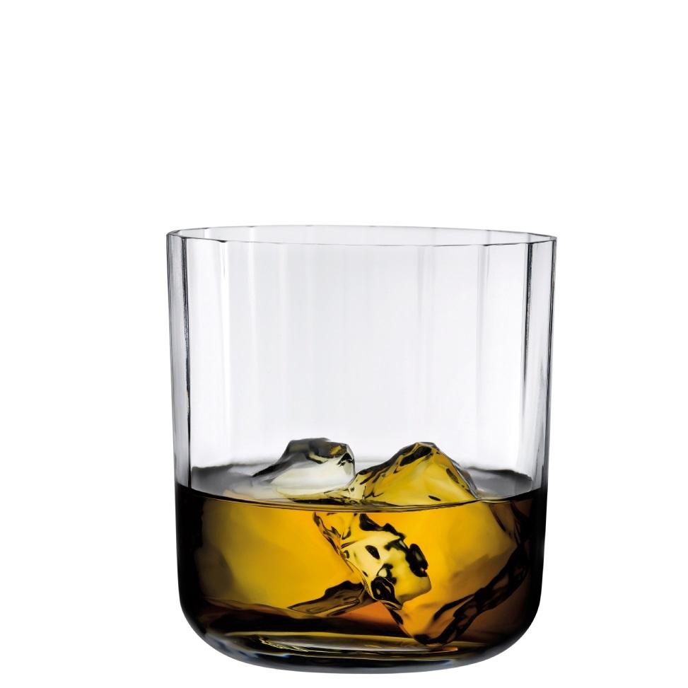 Nude designové sklenice na whisky Neo