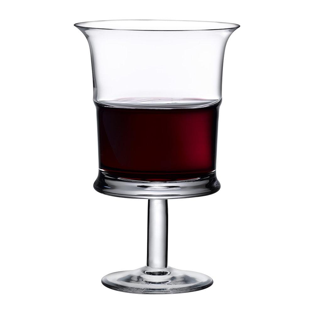 Nude designové sklenice na červené víno Jour