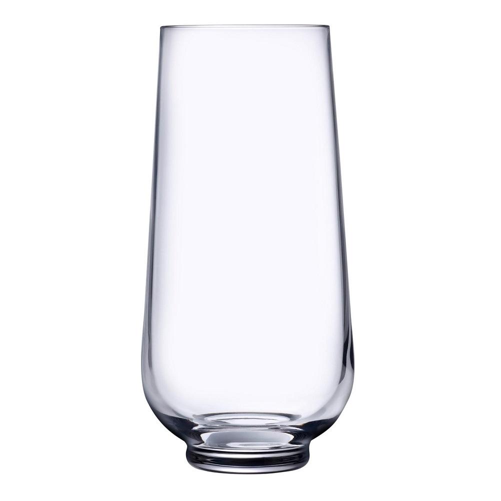 Nude designové sklenice na vodu High Hepburn