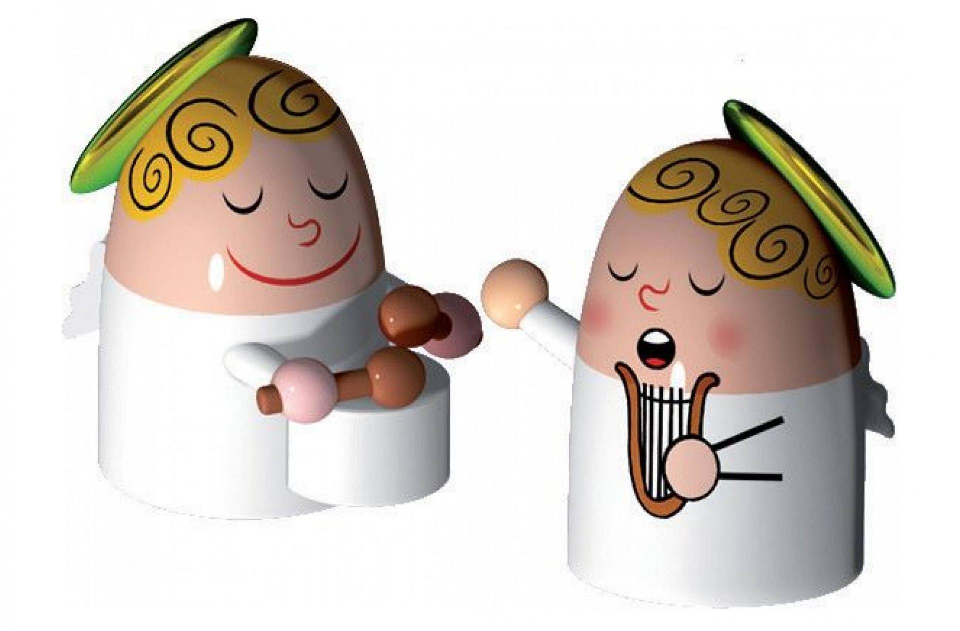 Alessi designové figurky Angels Band 3