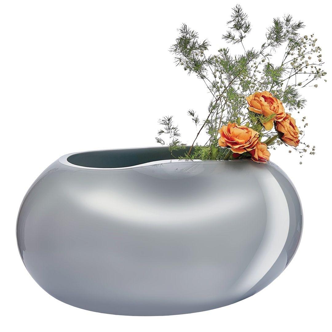 Nude designové vázy Satin Low