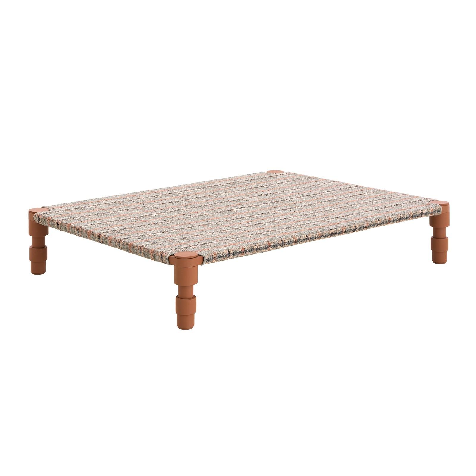 Gan designové zahradní sedačky Garden Layers Indian Double Bed Terracotta