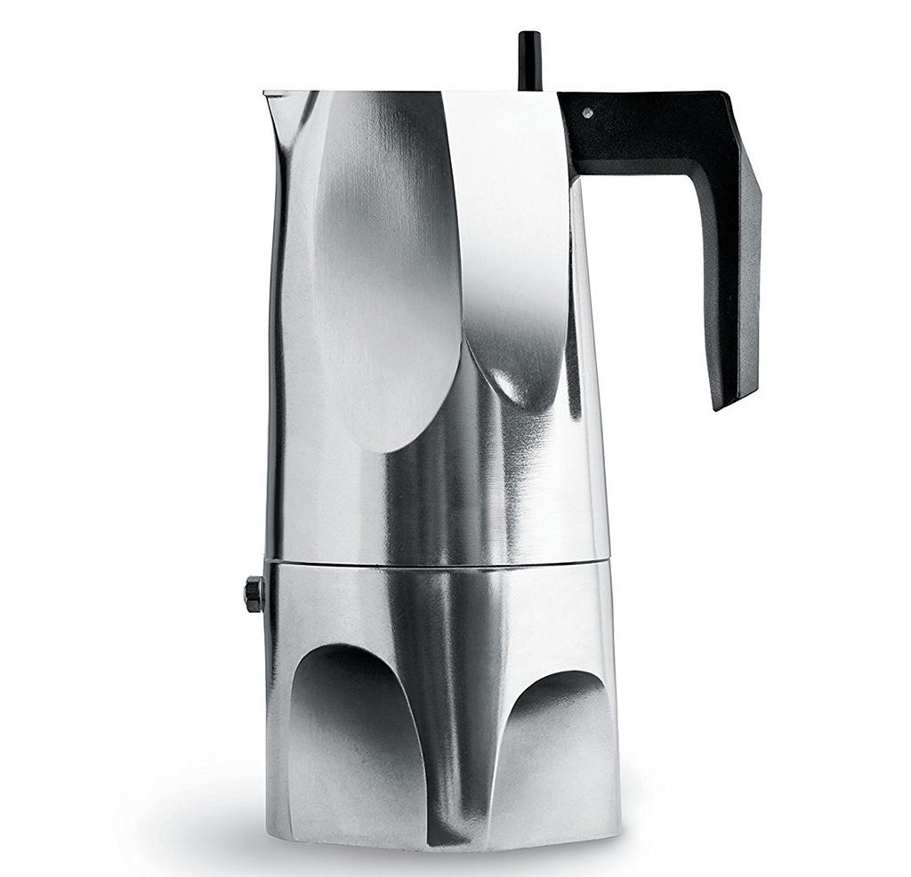 Alessi designové konvice Espresso Ossidiana