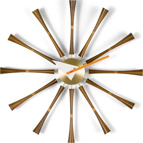 Vitra designové nástěnné hodiny Spindle Clock