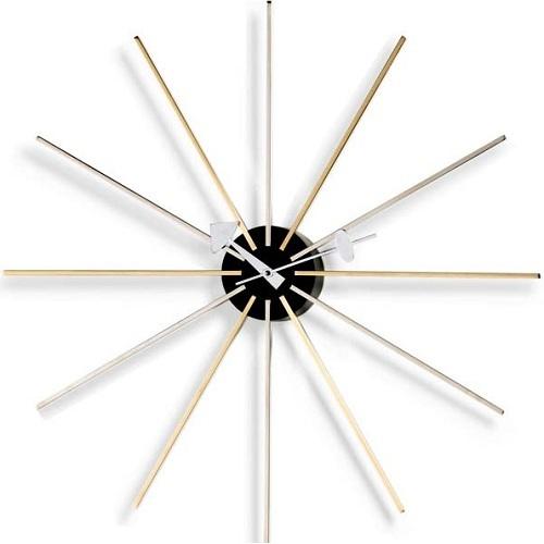 Vitra designové nástěnné hodiny Star Clock