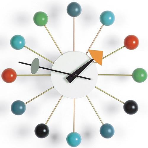 Vitra designové nástěnné hodiny Ball Clock
