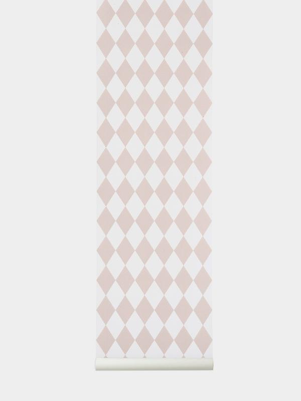 Ferm Living designové tapety Harlequin