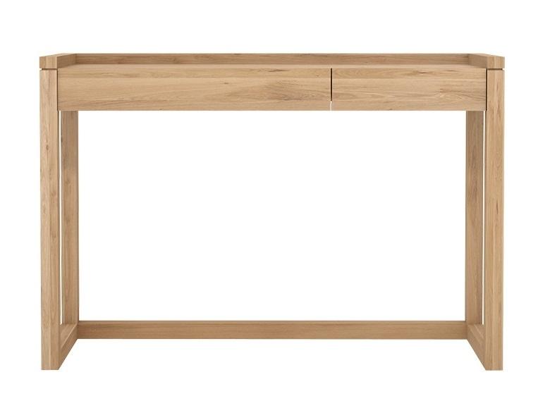 Ethnicraft designové konzolové stoly Frame Desk