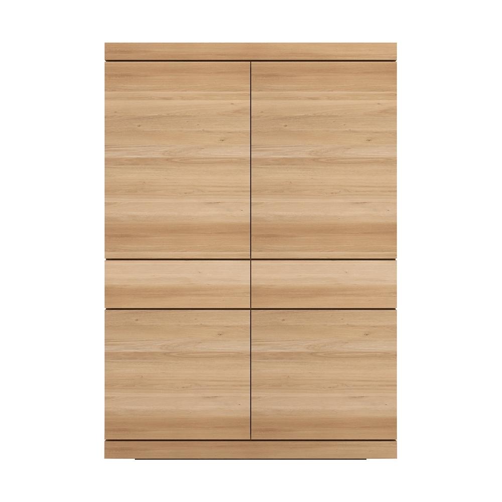 Ethnicraft designové skříně Burger Cupboard - 4 doors/ 2 drawers