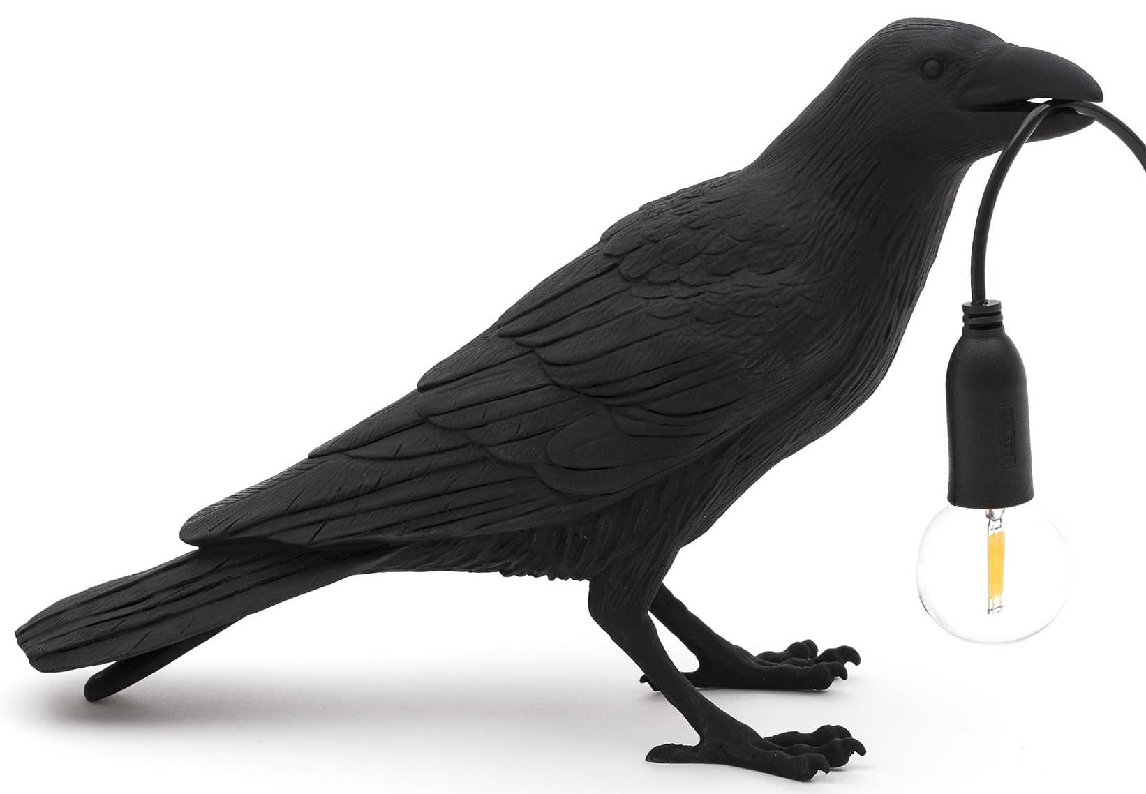 50075 seletti designove stolni lampy bird lamp looking