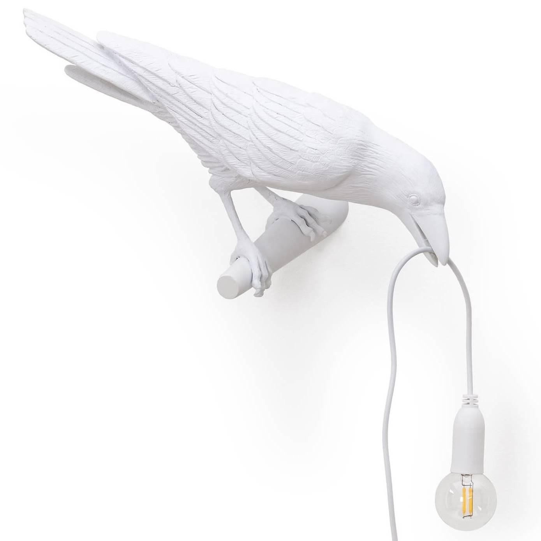Seletti designová nástěnná svítidla Bird Lamp Looking