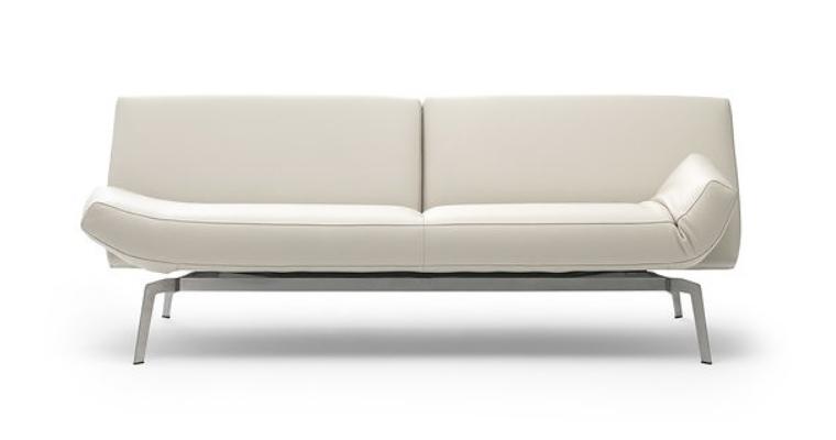 Výprodej Leolux designové sedačky Shuffle (Bimardo cream leather)