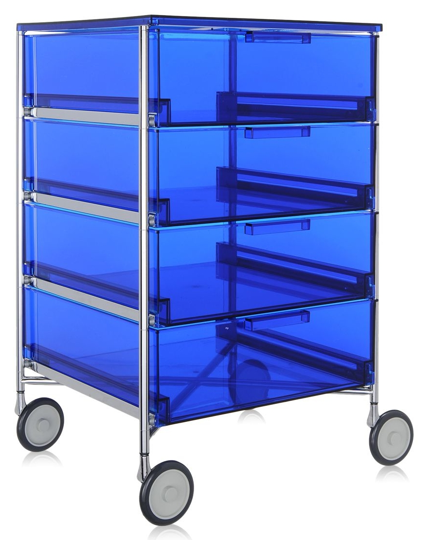 Kartell designové kancelářské kontejnery Mobil (4x zásuvka)