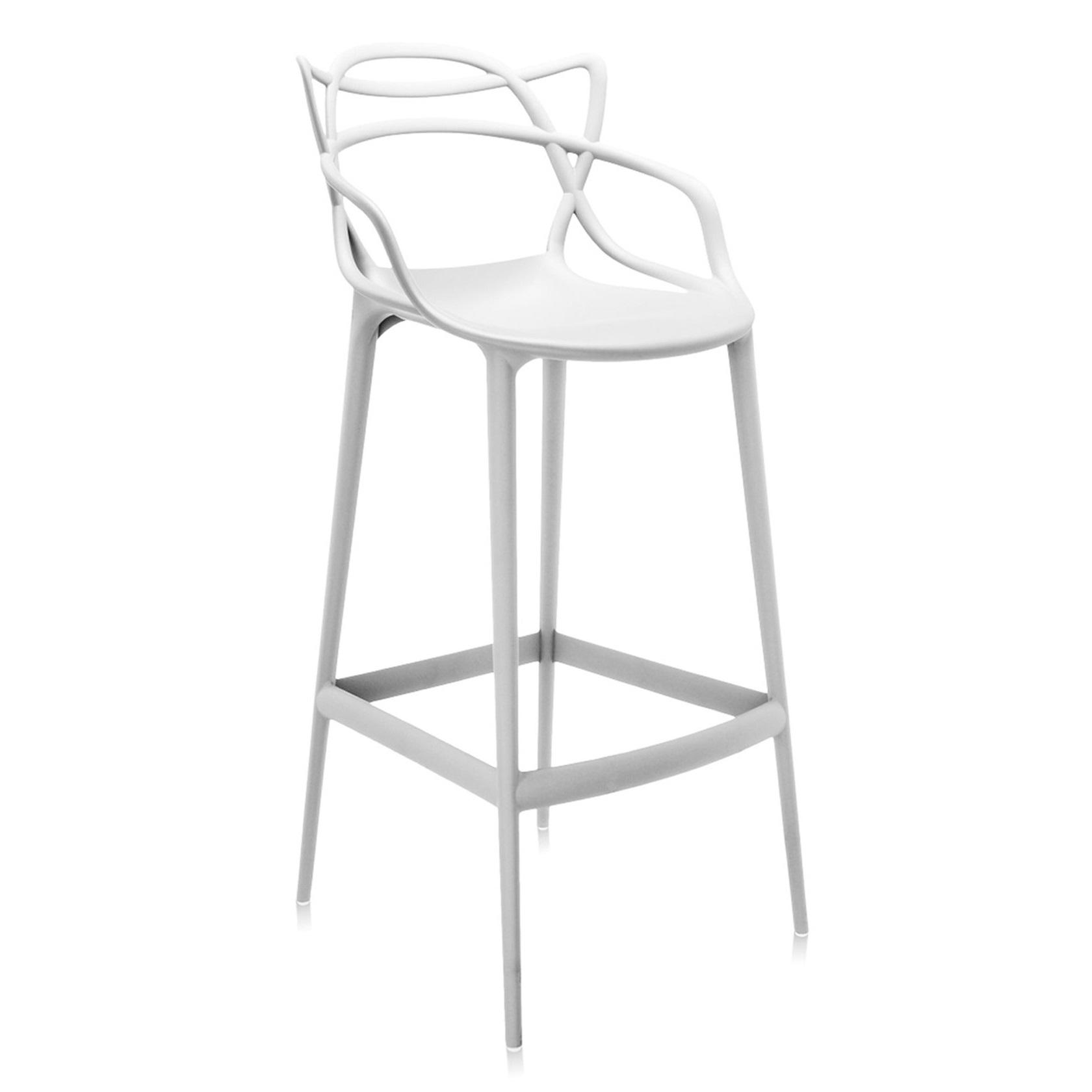 Kartell designové barové židle Masters Stool (výška sedáku 75 cm)