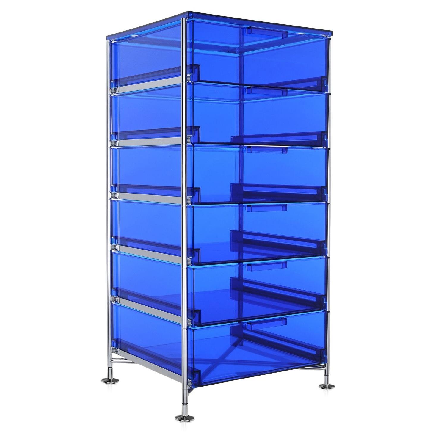 Kartell designové kancelářské kontejnery Mobil (6x zásuvka)