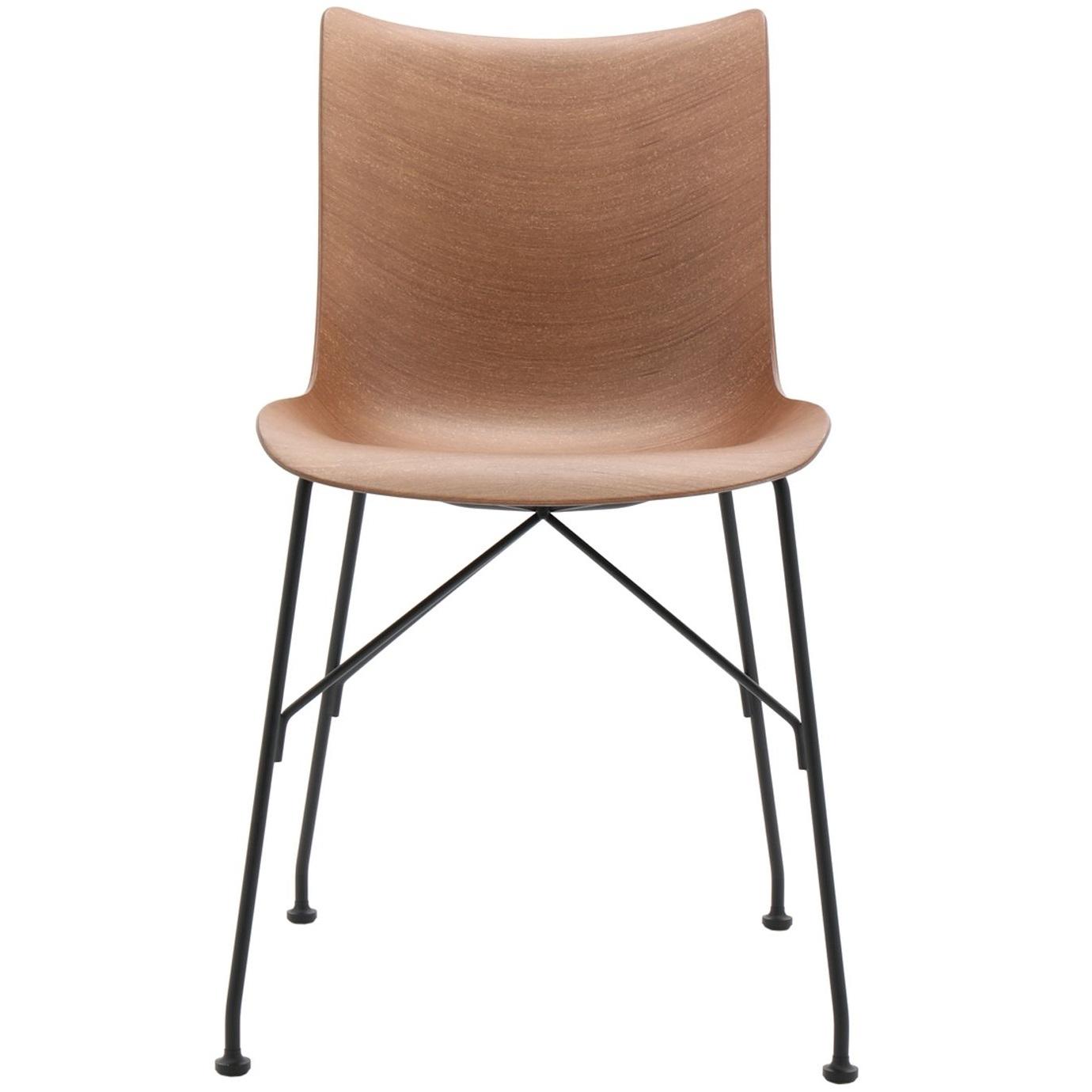Kartell designové jídelní židle P/Wood