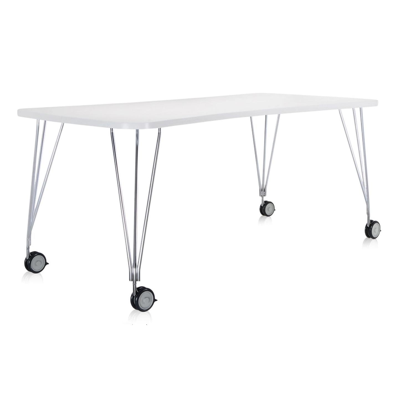Kartell designové pracovní stoly Max Roll (190 x 73 x 90 cm)
