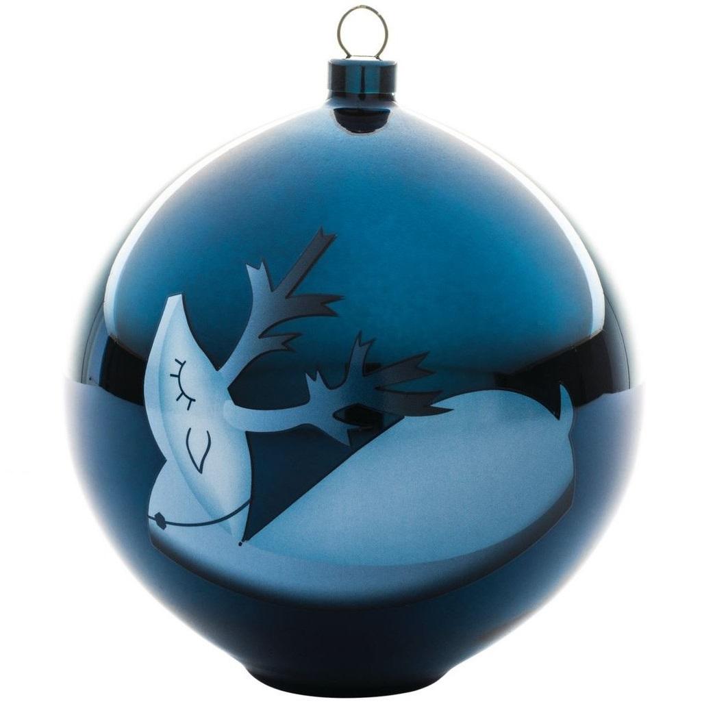 Alessi designové vánoční ozdoby Blue Christmas 3