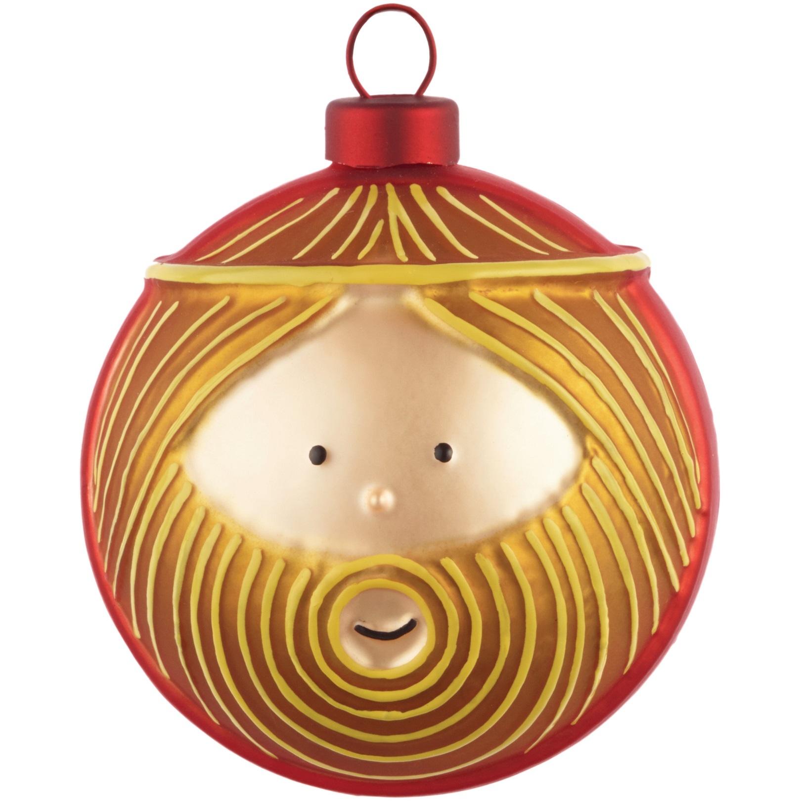 Alessi designové vánoční ozdoby Giuseppe