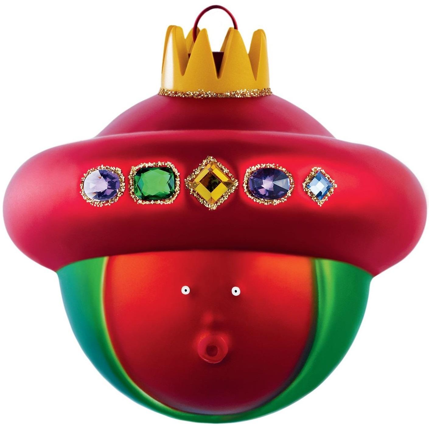 Alessi designové vánoční ozdoby Baldassarre