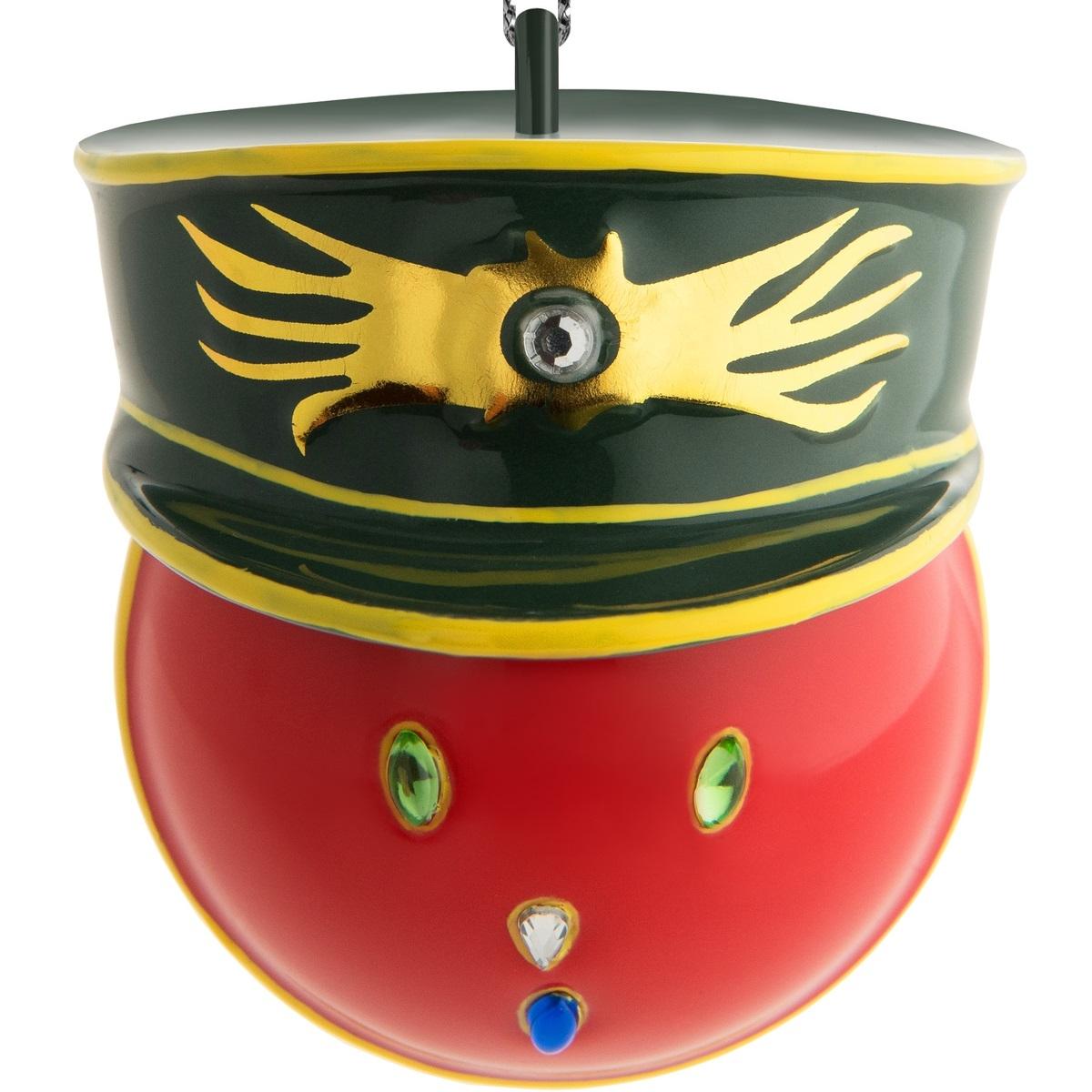 Alessi designové vánoční ozdoby Generale Corallo