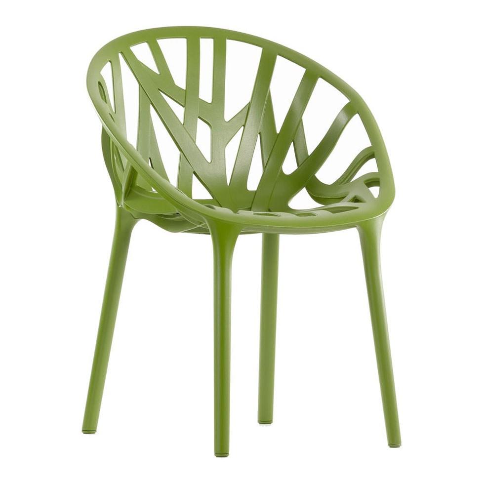 Výprodej Vitra designové židle Vegetal - zelená