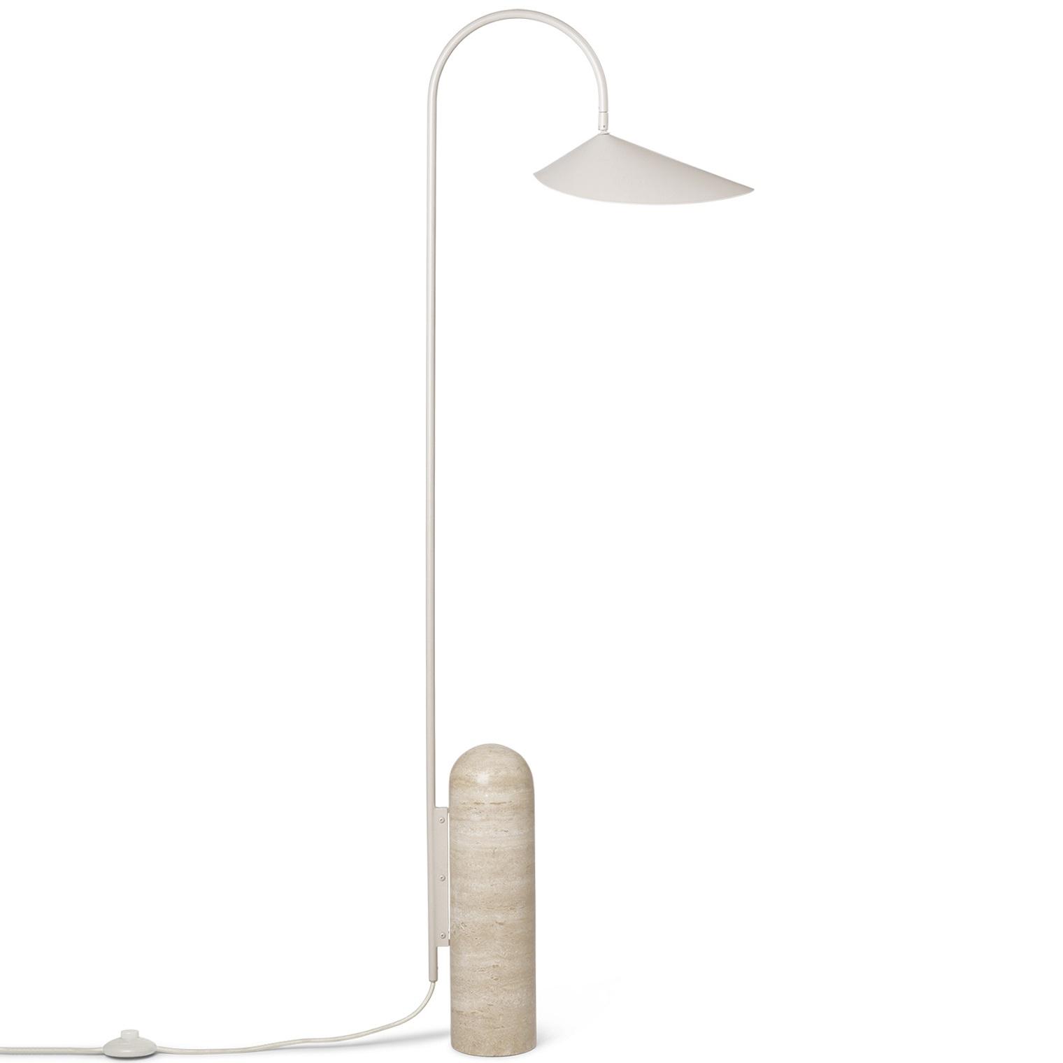 Ferm living designové stojací lampy Arum